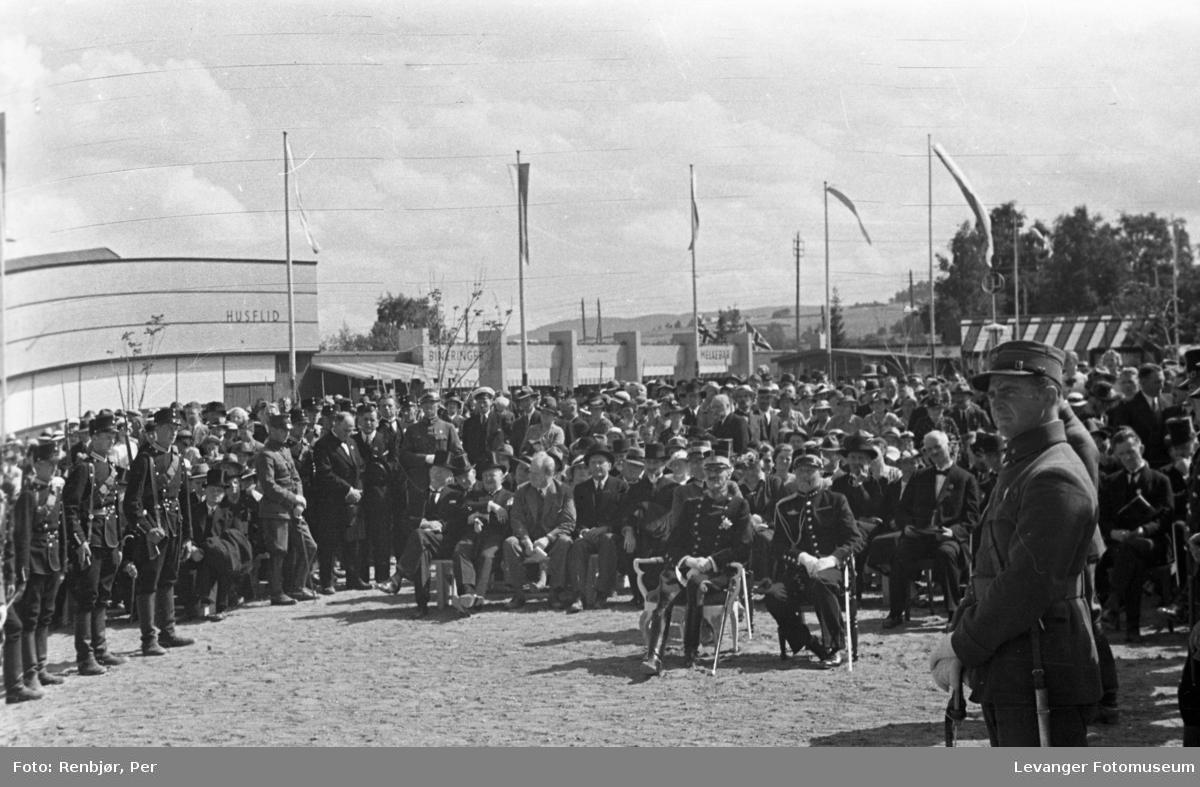 Byjubileet i 1936, sommerutstillingen fra åpningen.