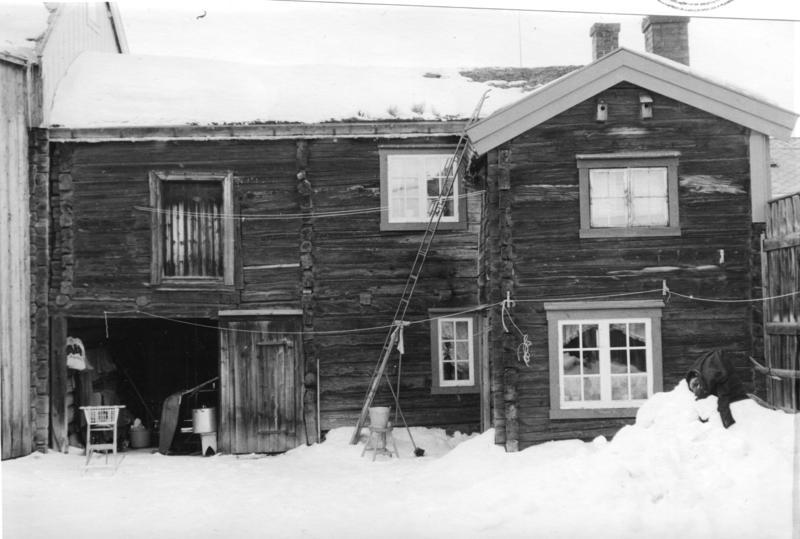 Del av gårdsrom i Rasmusgården
