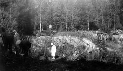 Mårtsbo. Stenåldersboplats, 4 augusti 1930.