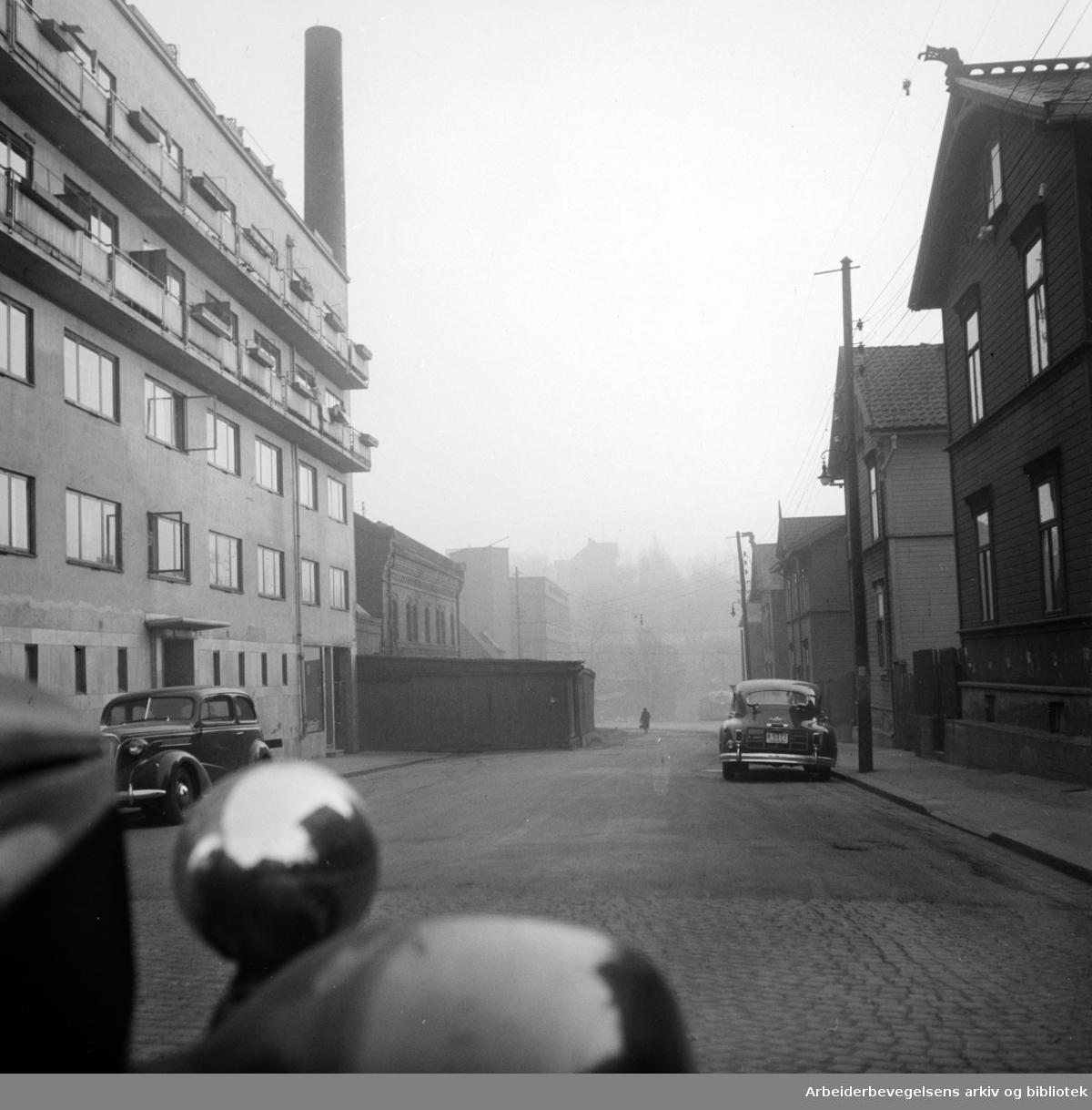 Rosenhoffgata. Desember 1948