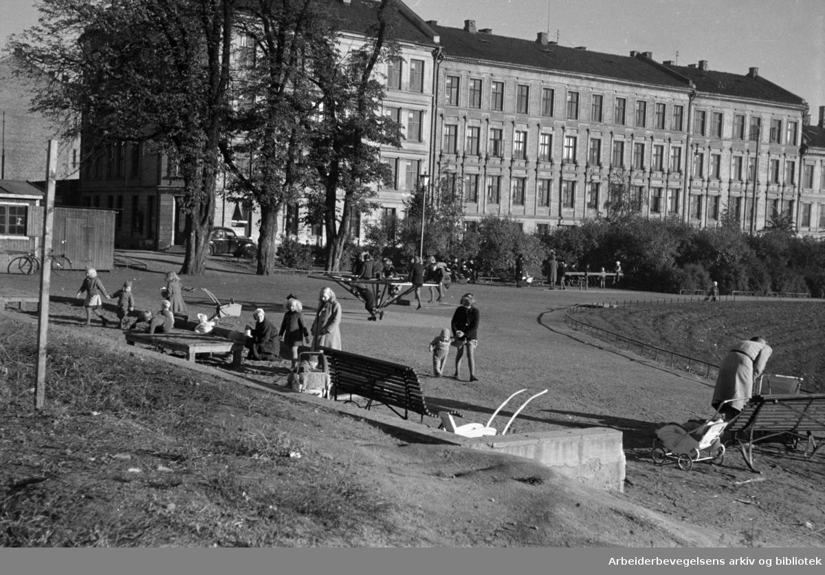 Grünerhagen og Nordre gate. 1947