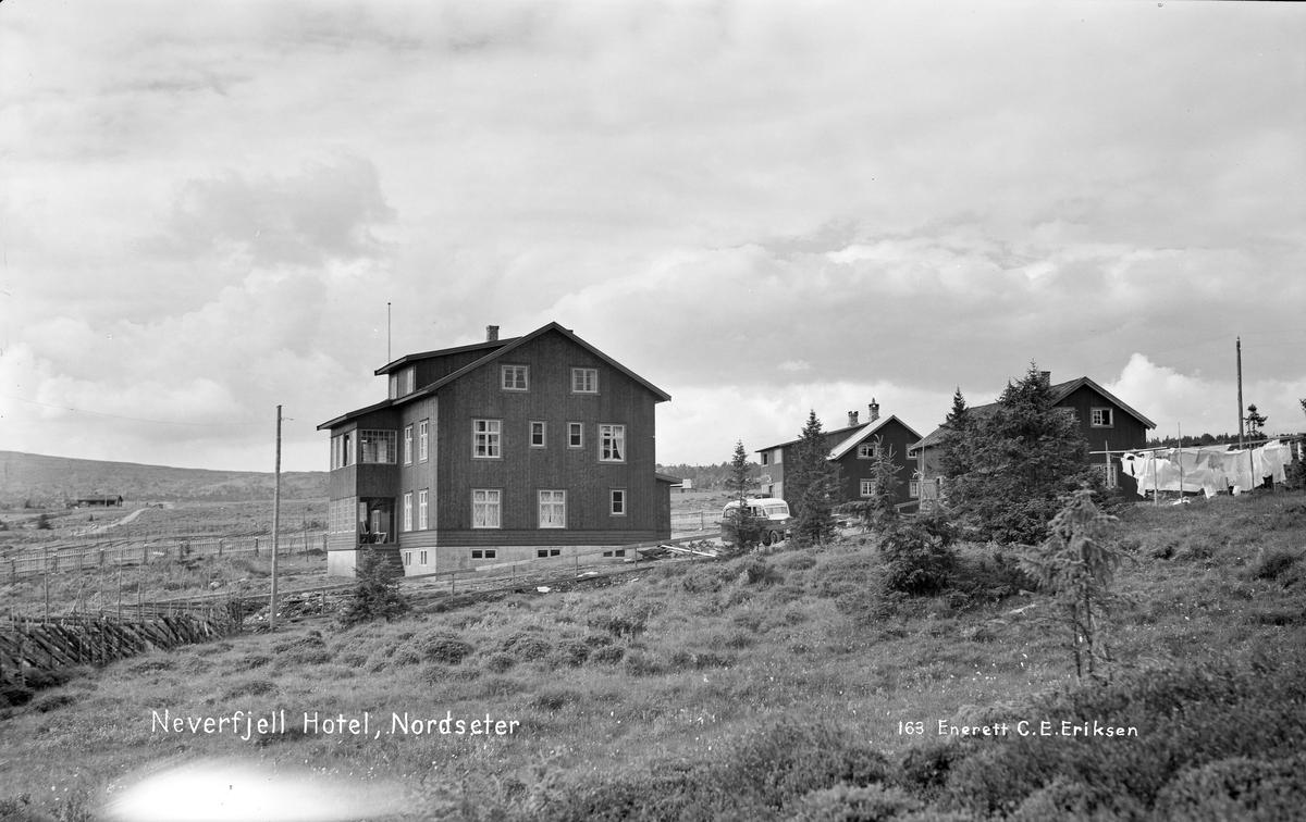 Nevefjell hotell på Nordseter.