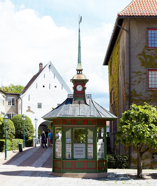 Tårnkiosken. Foto/Photo