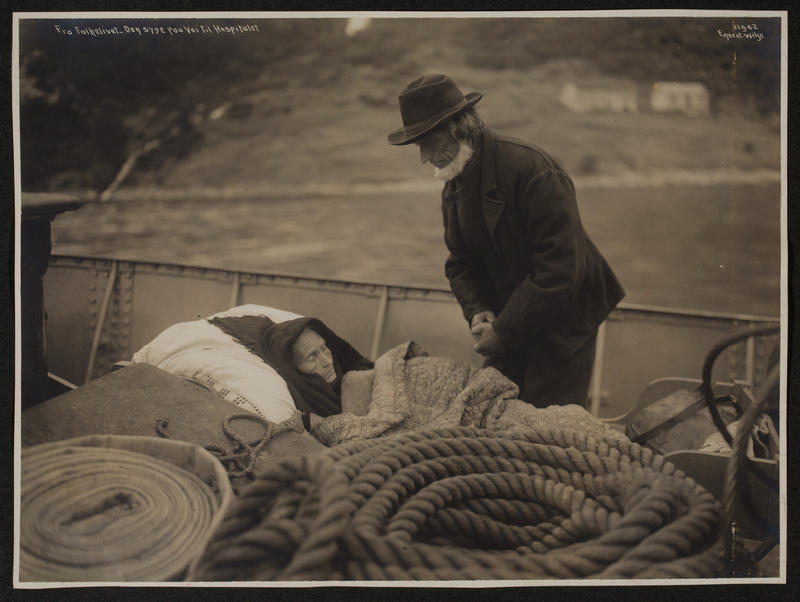 Siste reis. 1910. (Foto/Photo)