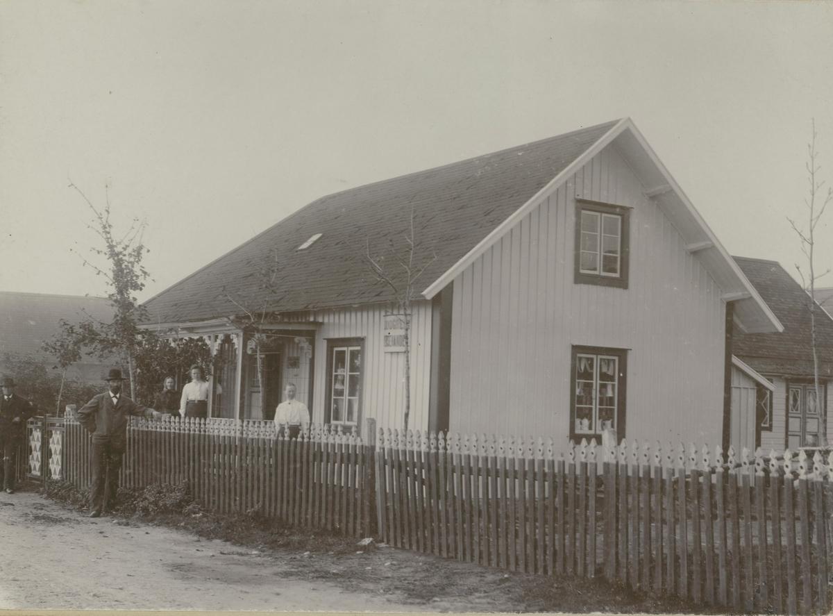 Diversehandel i Störlinge vid 1900-talets början.