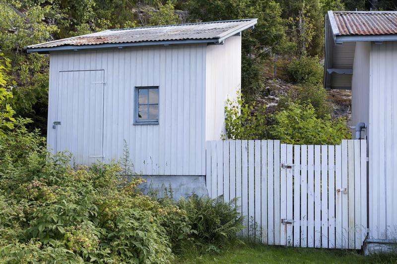 """Ishuset på """"Uranienborg""""."""