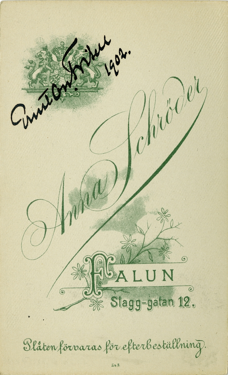 Schröder, Anna Gustava (1869 - 1951)