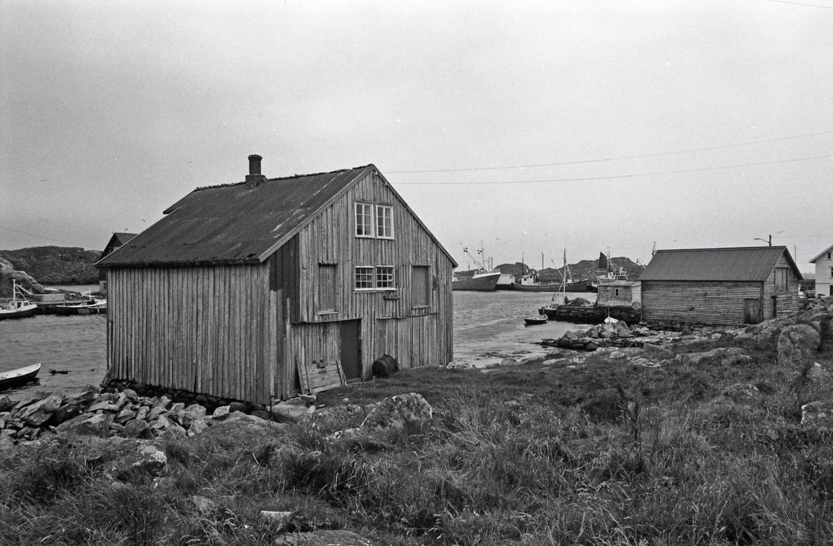 Mikael Klovnings sjøhus - Fasade nord og vest