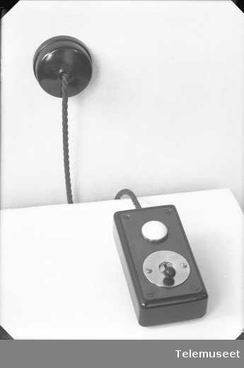 Bordkontakt, opptattsignal, Elektrisk Bureau.