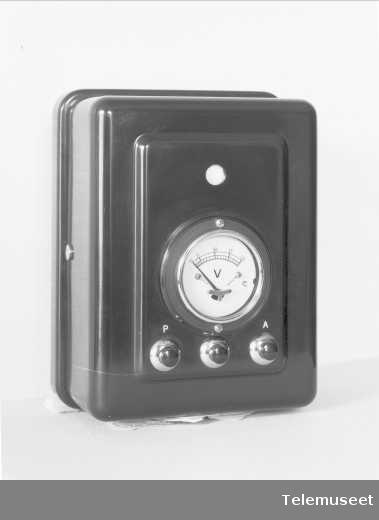 Måleinstrument, Elektrisk Bureau.