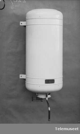 Rex varmtvannsbeholder, Elektrisk Bureau.
