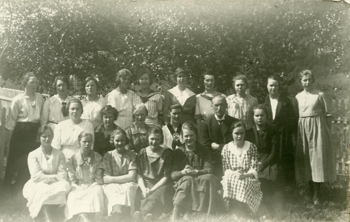 Elever ved Vestoppland folkehøgskule.