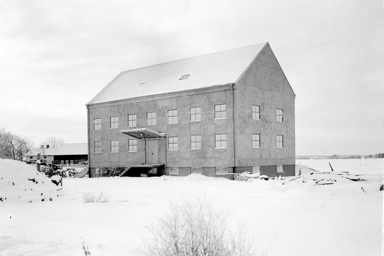 Bildtext: Vara Elektriska kvarn, Vara 1950.