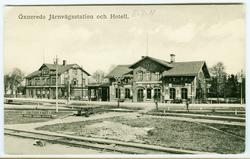 Öxnereds Järnvägsstation och Hotell
