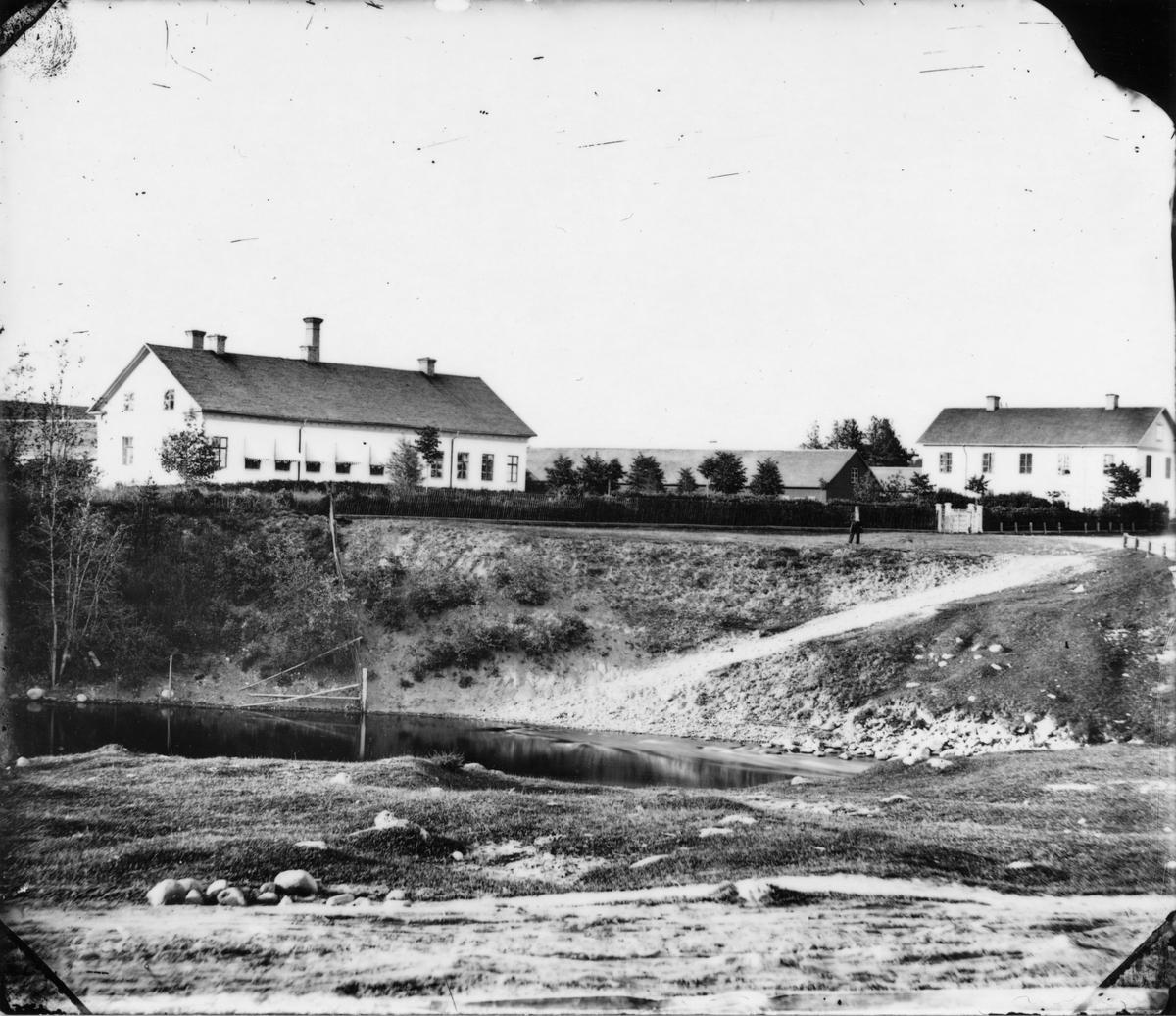Gustafsbro utanför Gävle 1860-talet. Gefle Bryggeri AB.
