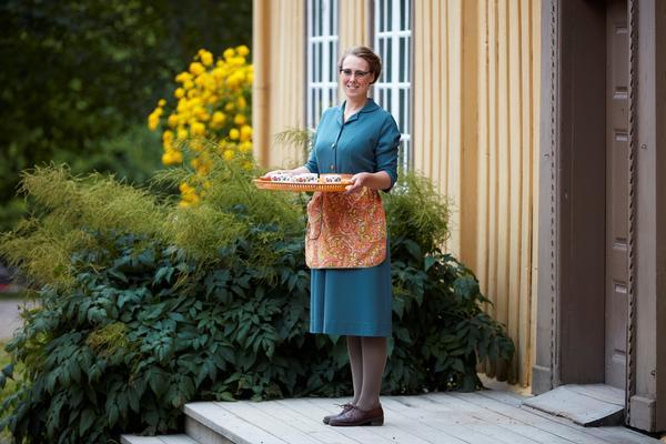 Møte med minner. Tilbud på Norsk Folkemuseum for personer med demens.. Foto/Photo