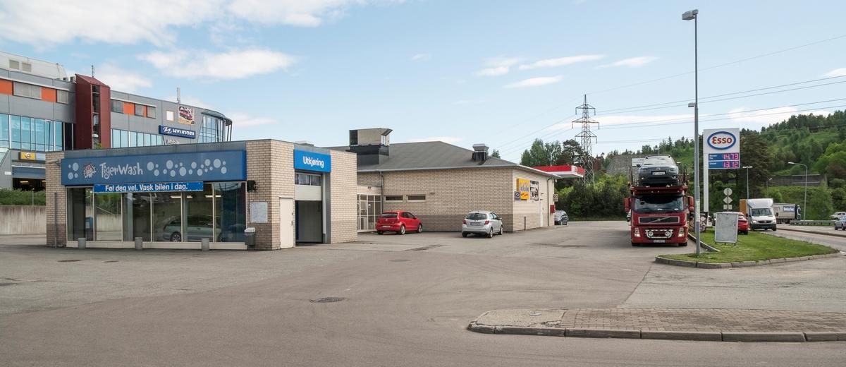 Esso bensinstasjon Trondheimsveien Kjeller Skedsmo