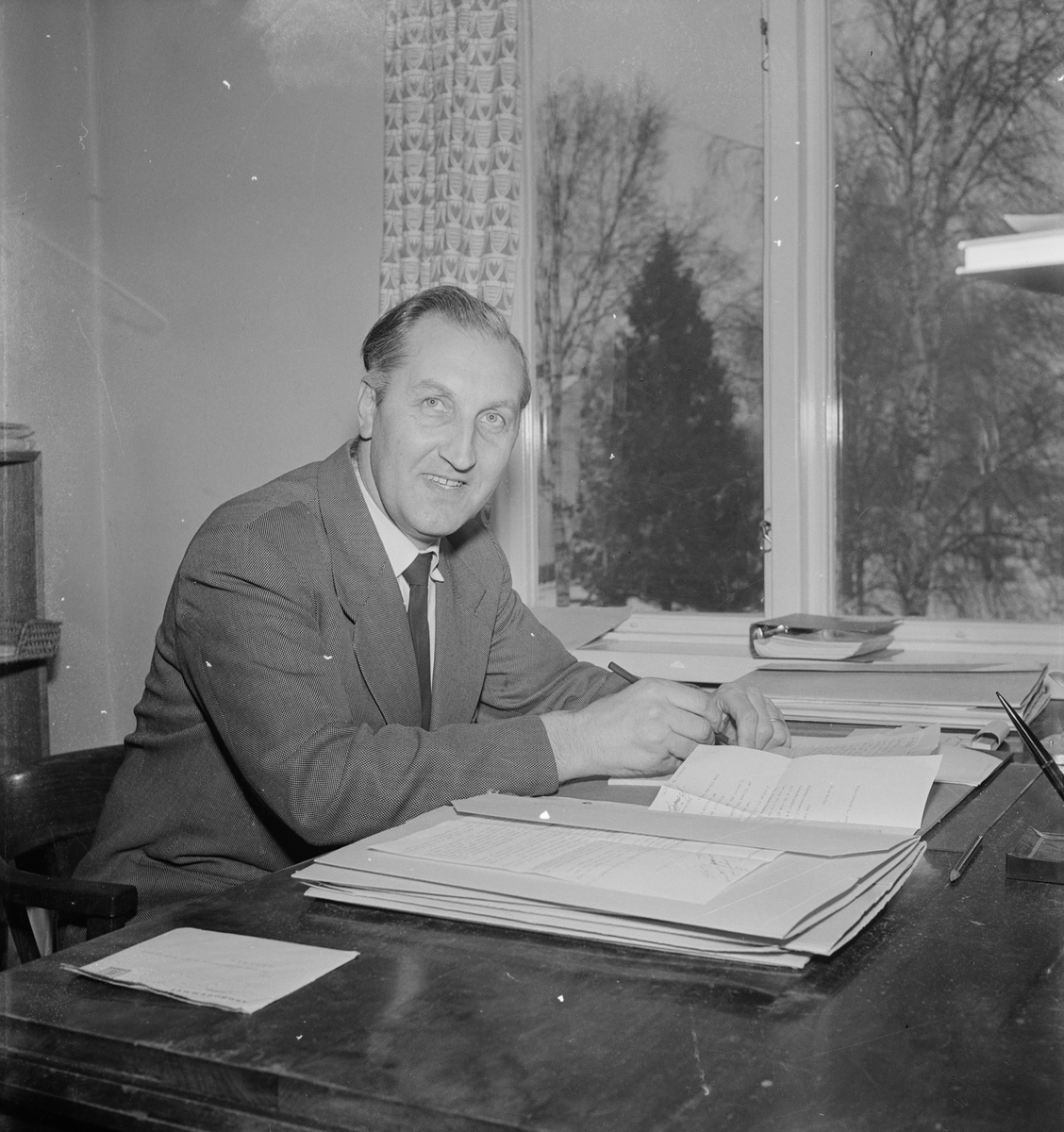 Socionom Lennart Arnesson, föreståndare på Östfora erkända alkoholistanstalt