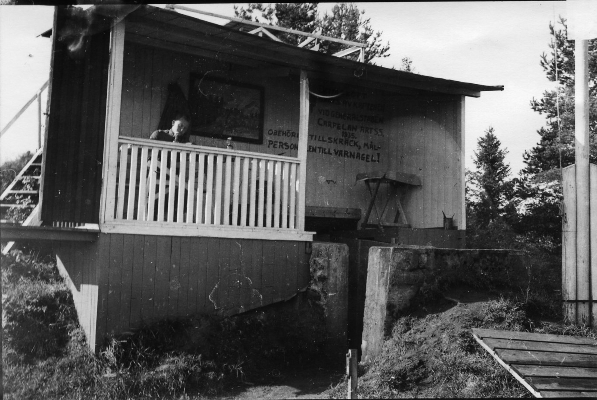 Observationsplats i Skillingaryd.