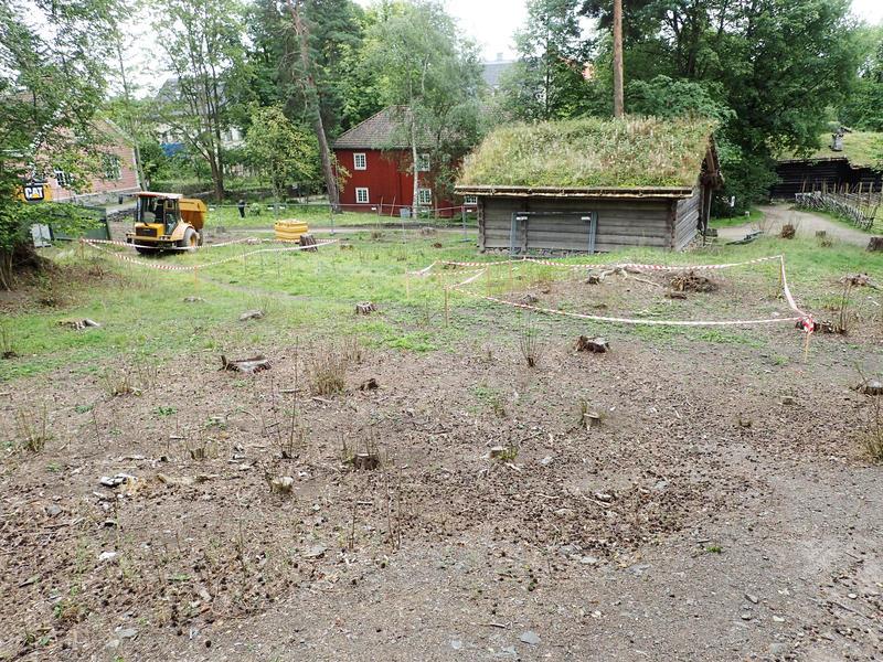 Finnmarkstomta på Folkemuseum