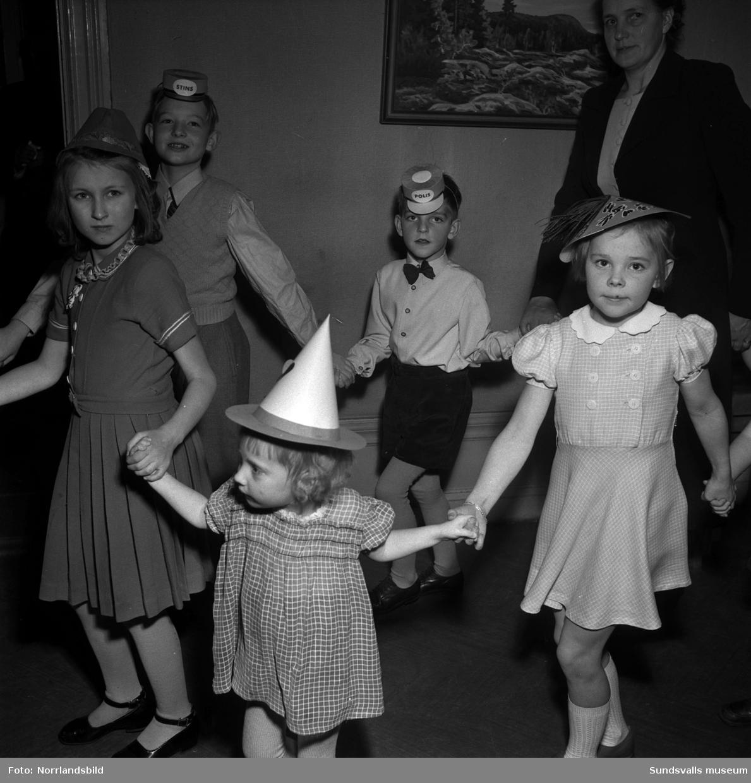 Barnfest på W6.