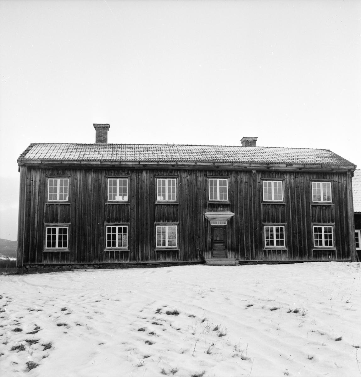 Turistföreningen halvårsmöte i Arbrå, Willy Maria Lundberg, 8 December 1963