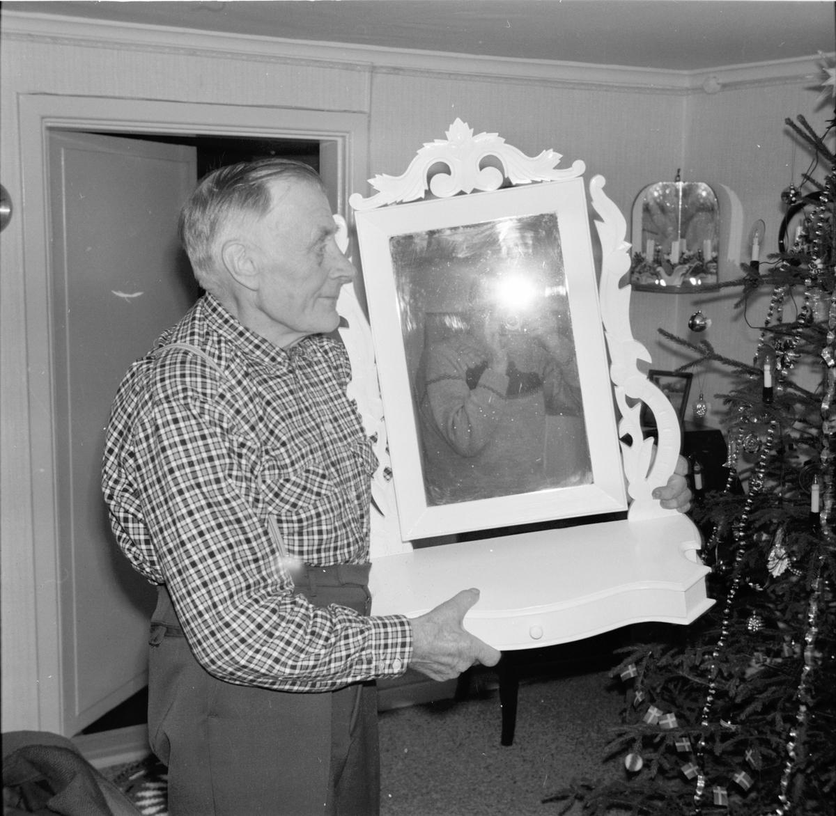 Arbrå, Johan Svärd, 81-årig finsnickare, Flästa