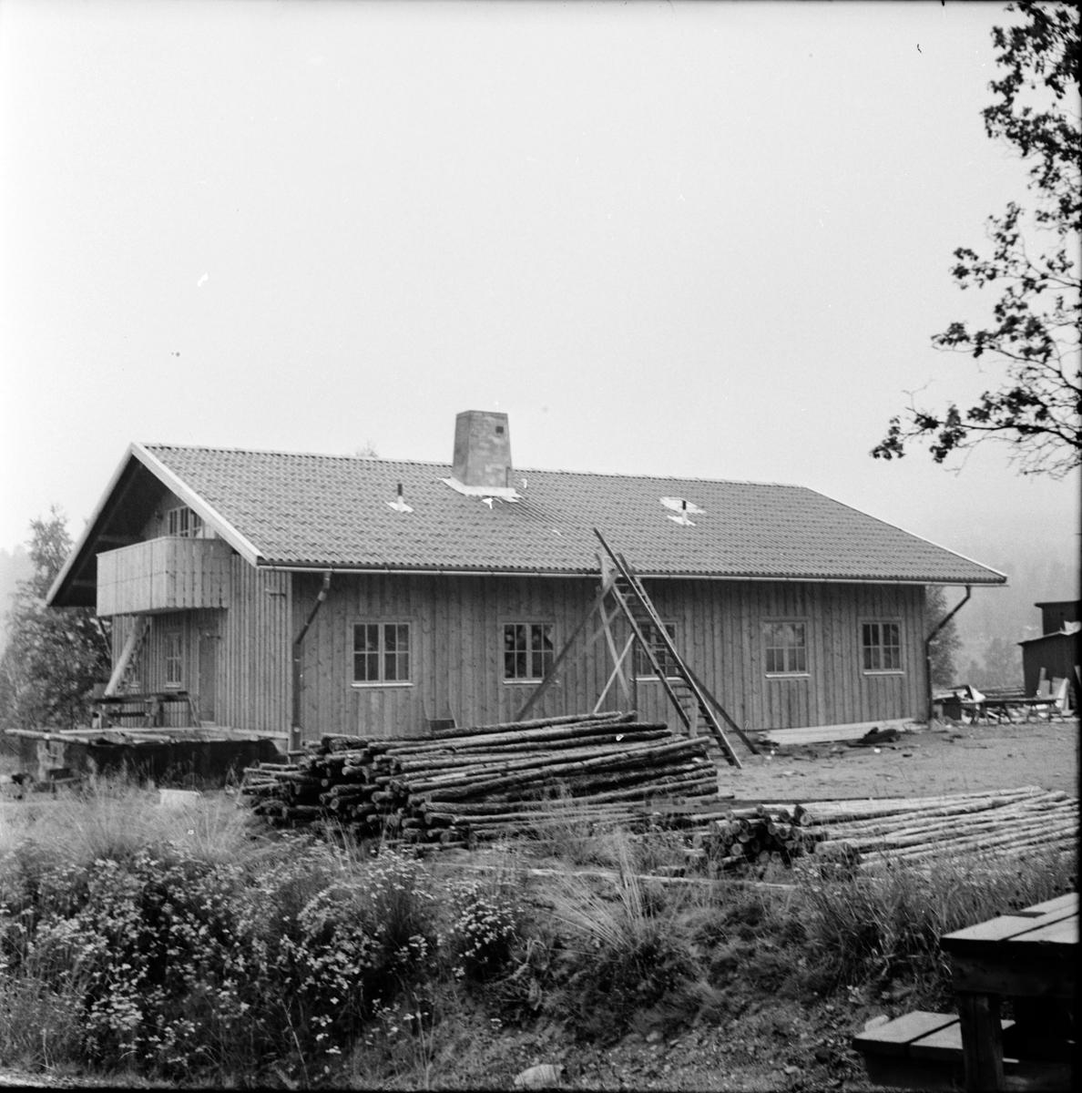 Arbrå, Flyttning av Knut Arvidssons hus, Oktober 1968
