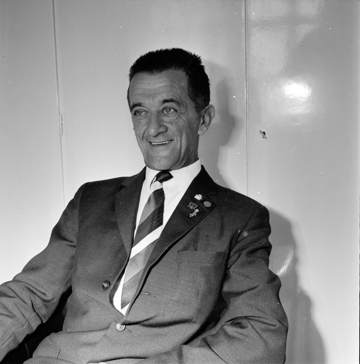 Öst Eddy, Kapellmästare, 12 April 1967