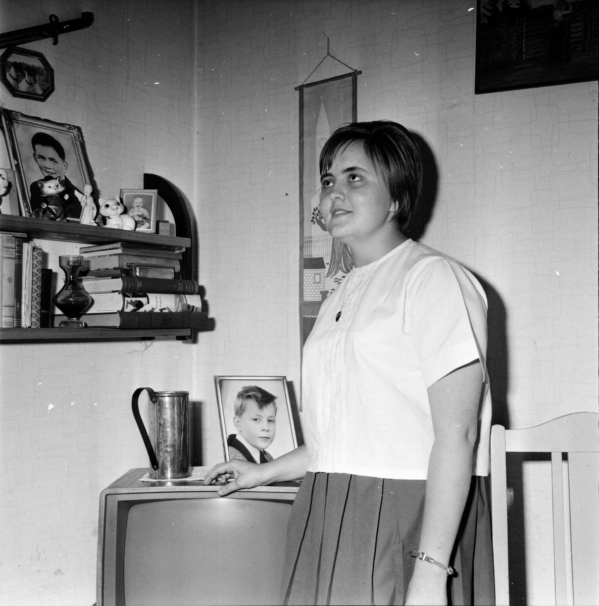 Wiger Sonja, Pol.sjuk, Järvsö, 11 Mars 1964