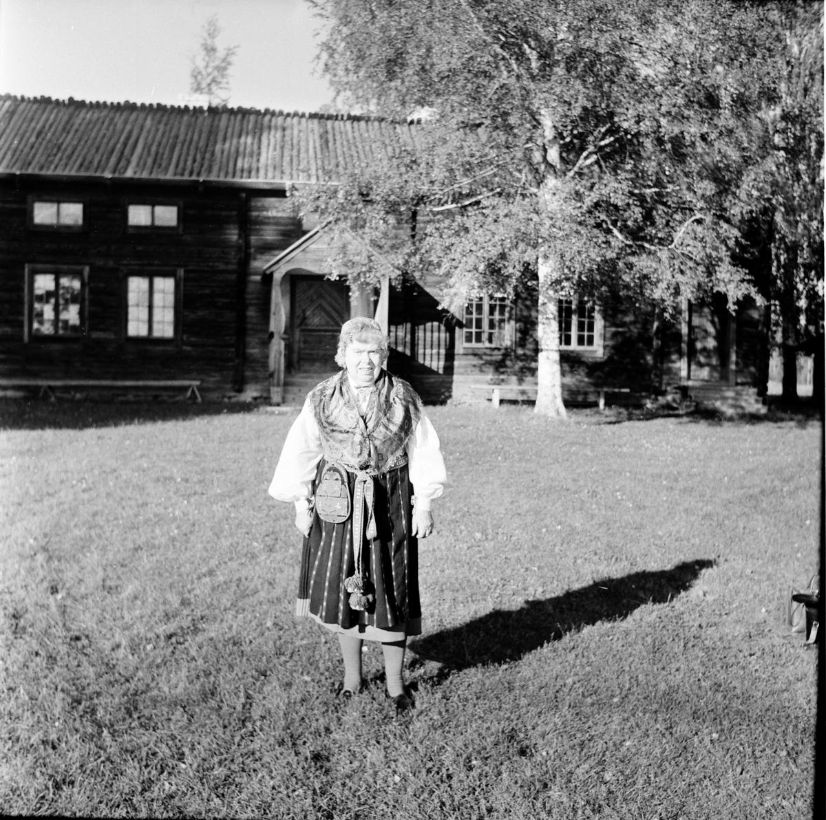 Hanzen Rut. Delsbo hembygdsgård. 12/9-1966