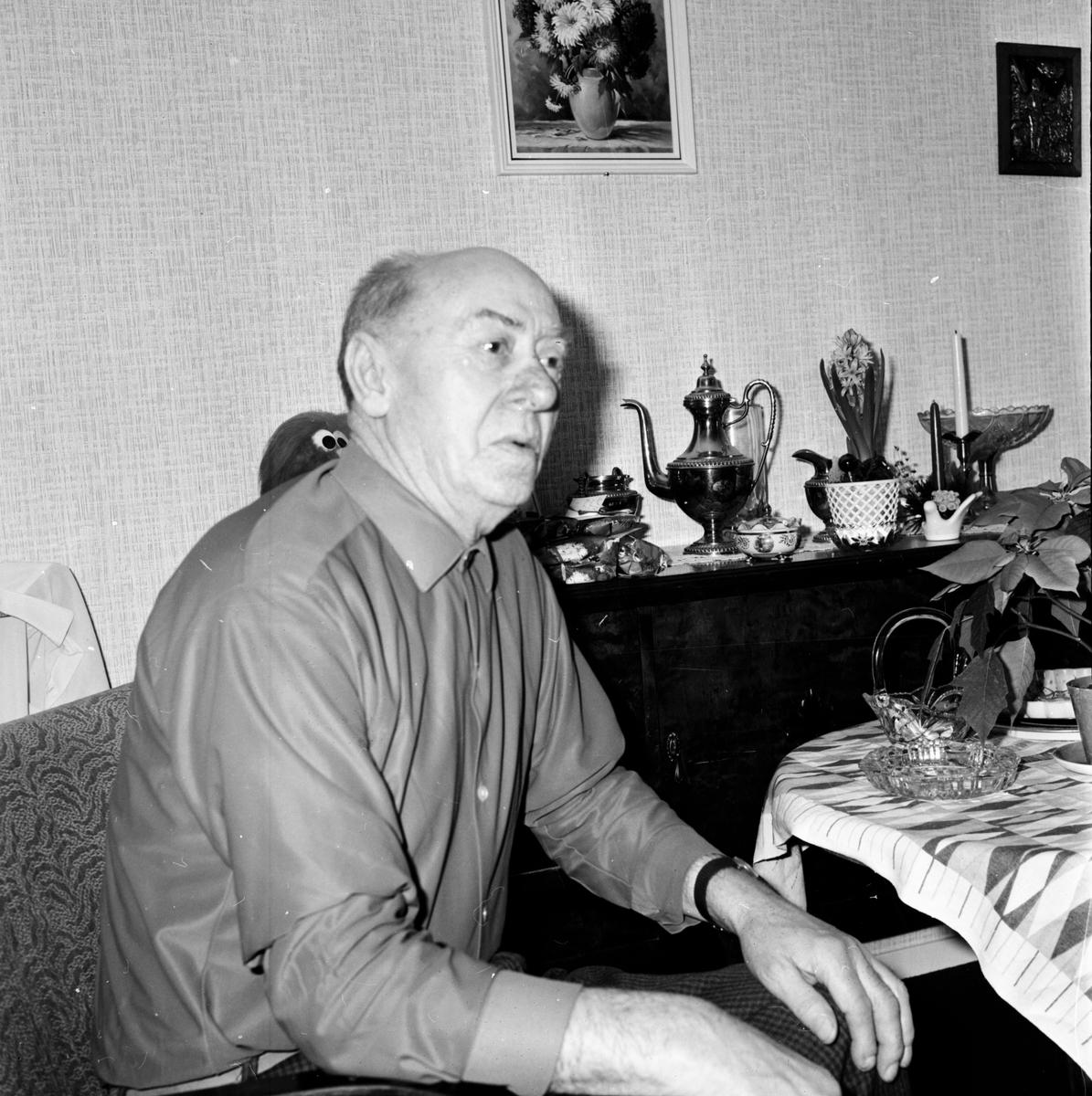 Arbrå, Inflyttning i Säljen o Aspen, Dec 1970