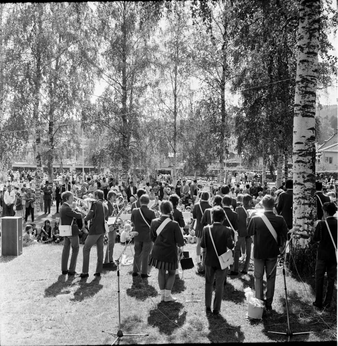 Arbrå, Barnens Dag, Juni 1971
