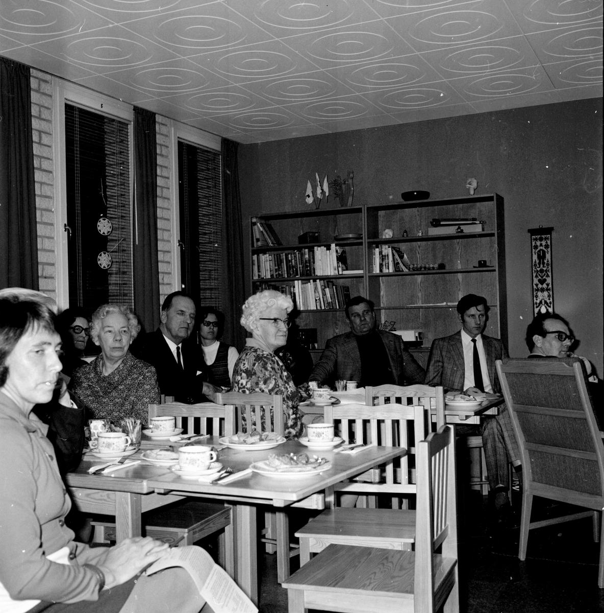 FP-årsmöte, på RK-lokalen, Febr 1972
