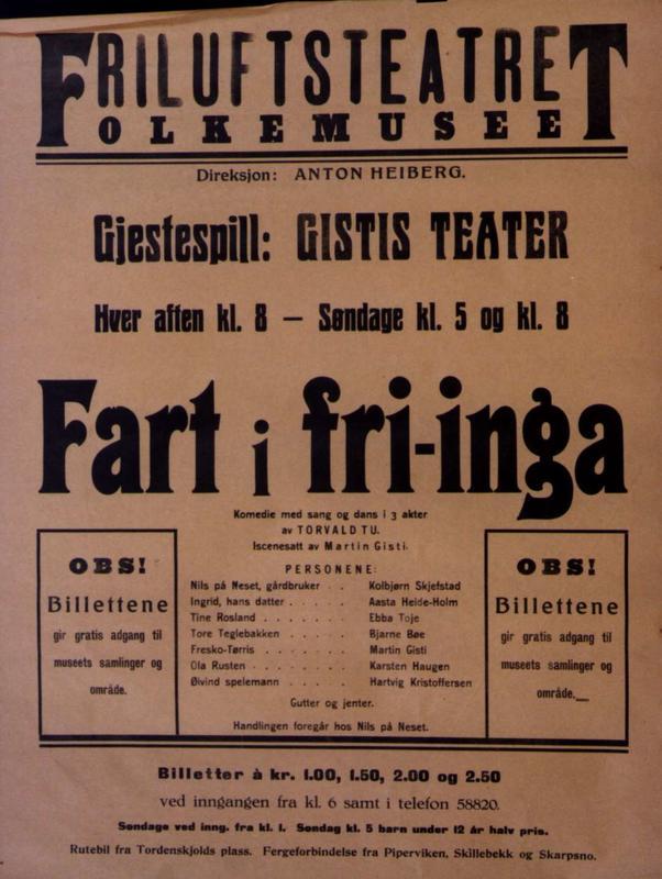 Teaterplakat NF.21347-0166 (Foto/Photo)