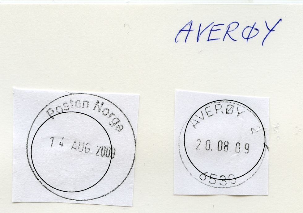 Stempelkatalog 6530 Averøy, Averøy, Møre og Romsdal