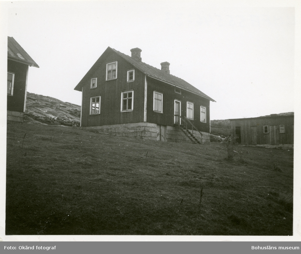 Byggnad tillhörande stenhuggeriet på Rixö, Klefva
