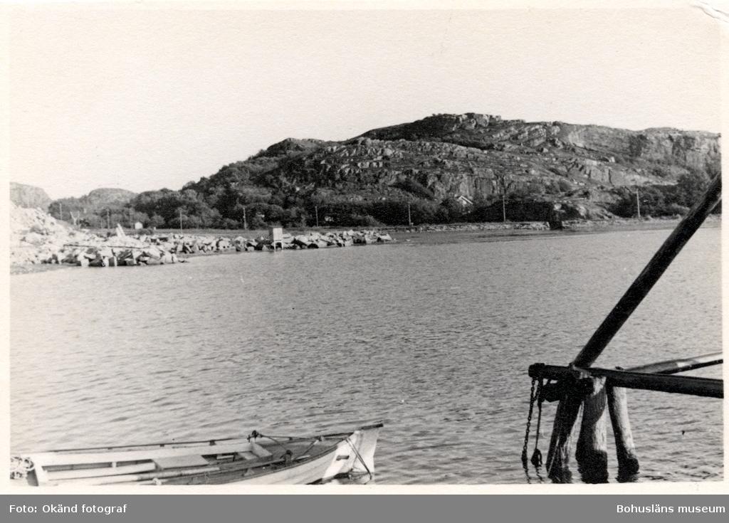 Området runt stenhuggeriet på Rixö