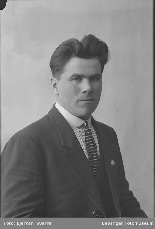 Portrett av Einar Skei