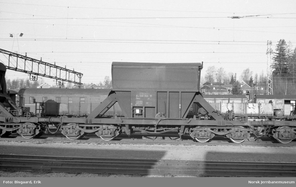 Bunntømmingsvogn litra Øo5 anr. 500369 tilhørende Borregaard/Folldal Verk