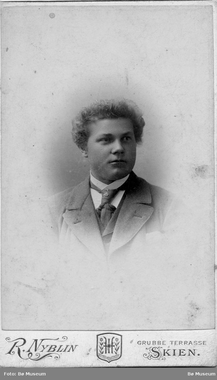 Portrett av Eivind Bjønnemyr