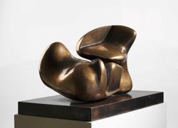 Two-piece sculpture: Interlocking [Skulptur]