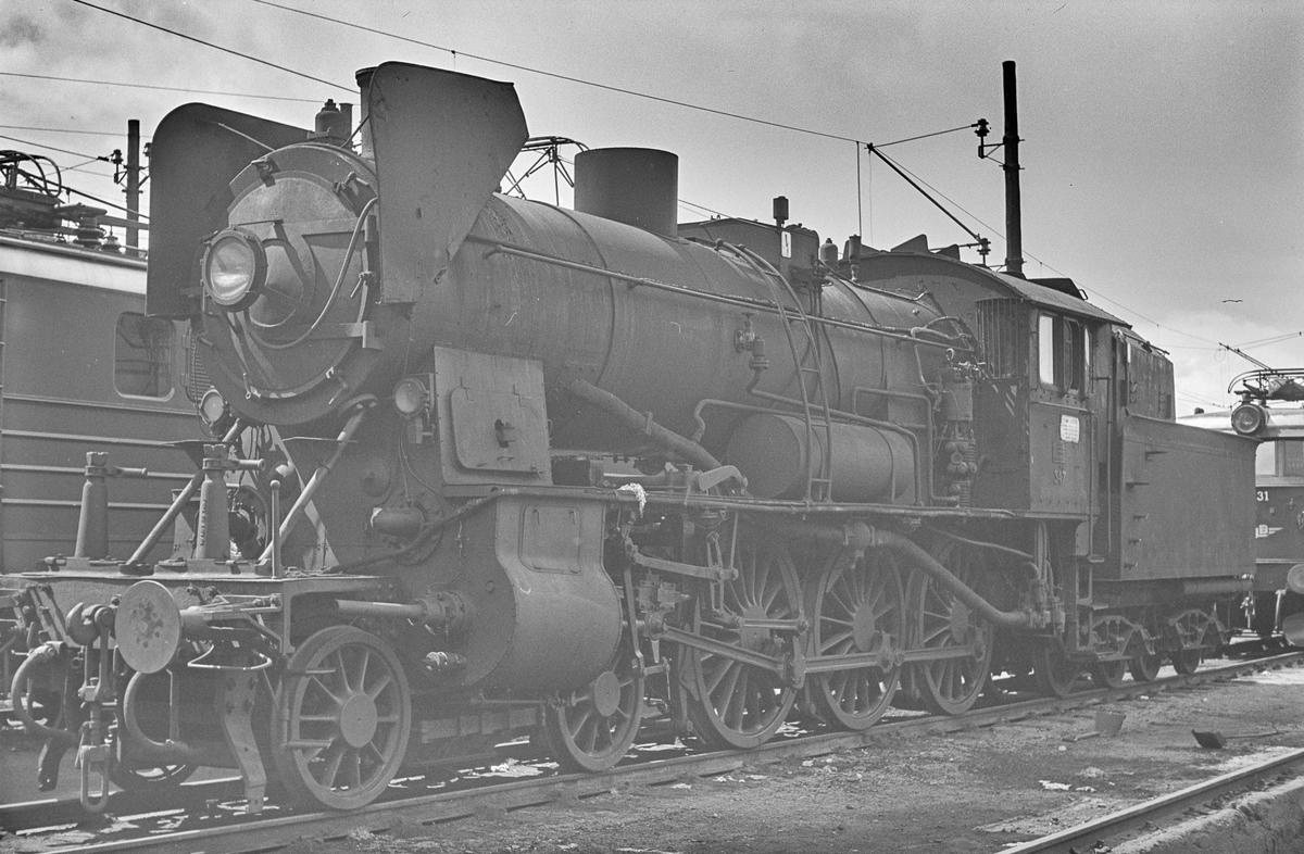 Damplokomotiv type 30b nr. 347 i Lodalen i Oslo.