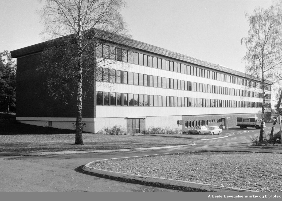 Statens Spesiallærerskole. November 1973