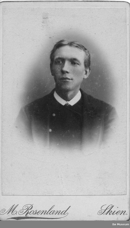 Portrett av Hans Sisjord