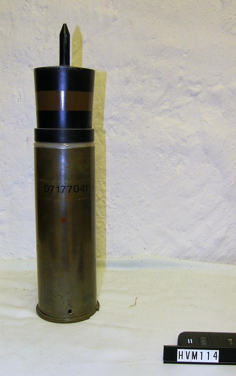 Granat, metallrör med spets