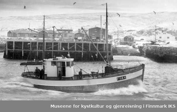 "fiskebåten ""Skarholm"" av Kiberg, 1966"