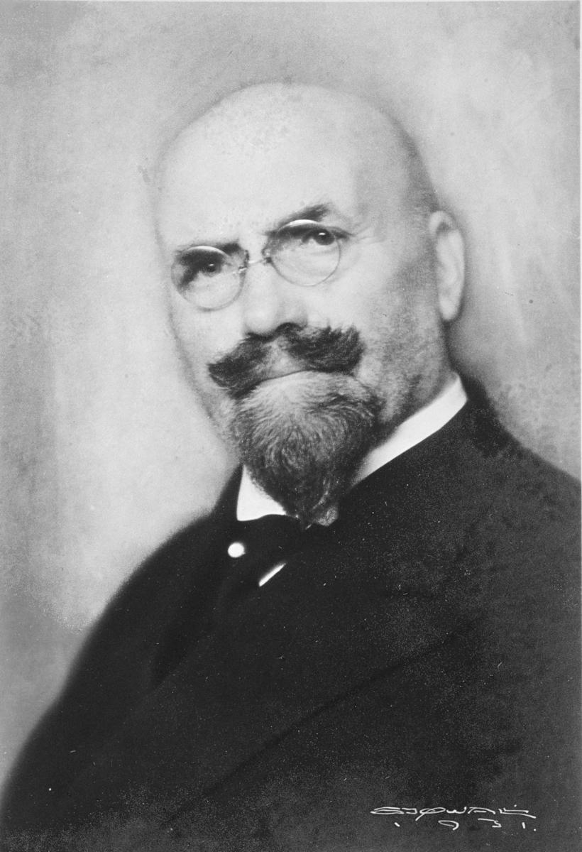 Portrett av Anders Sandvig.