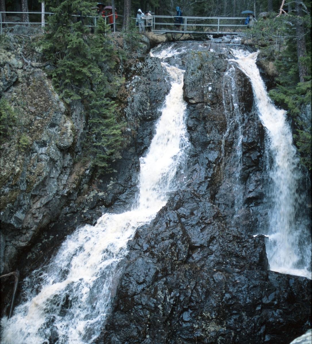 Styggforsen i Dalarna.
