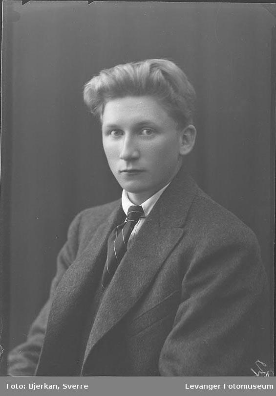 Portrett av Oskar Vestrum